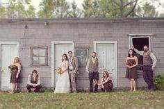 Kelley and Dean's Real Barn Wedding