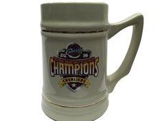 Cleveland Cavaliers 2016 NBA Champions Game Scores Ceramic Beer Mug Stein (24oz)