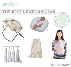 Our editor Mallory is expecting her second baby this Fall and it has us thinking about our favorite newborn gear. Sure you have a whole baby registry full