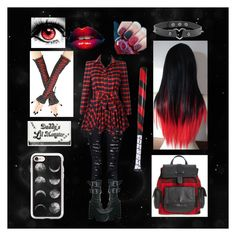 """""""Briana Creepypasta Fanfic"""" by sarah-strifley ❤ liked on Polyvore featuring Casetify, Treasure & Bond and Demonia"""