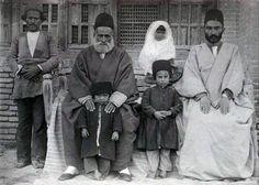 عکس خانوادگی در زمان قاجار
