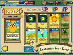 Top iPhone Game #3: Card Wars - Adventure Time - Cartoon Network by Cartoon Network - 04/25/2014