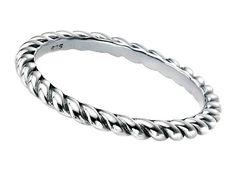 Silver Ring - Twist
