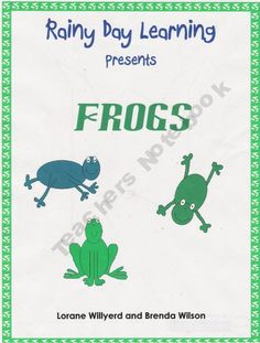 Frogs. for you, Marcie Pentz!!!