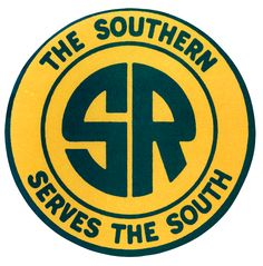 Old vintage southern railroad metal sign Locomotive, Jm Logo, Train Drawing, Southern Railways, Norfolk Southern, Vintage Metal Signs, Train Pictures, Model Train Layouts, Old Signs
