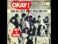 Dave Dee, Dozy, Beaky, Mick and Tich - Okay ! Top 40, Album Covers, Lust, British, Youtube, Sleeves, England, Cap Sleeves