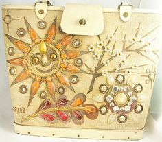 enid collins    Something very 'Happy' about this purse.