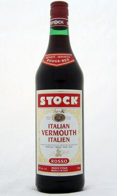 """Italian Vermouth, when used without any qualification, means """"red"""" vermouth. All vermouth starts as white wine. To make it red and to add flavouring, a caramel solution is added, along with additional flavourings. http://www.cooksinfo.com/italian-vermouth"""