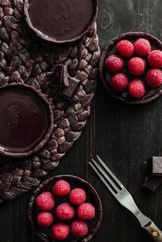 Chocolate Raspberry Tart