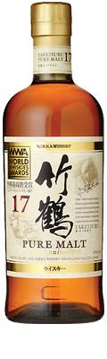 Nikka Whisky Taketsuru Pure Malt 17 Years Old - World's Best Blended Malt Nikka Whisky, Japanese Whisky, Old World, Whiskey Bottle, Girlfriends, Food And Drink, Alcohol, Pure Products, Drinks