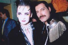 Boy George & Freddie Mercury