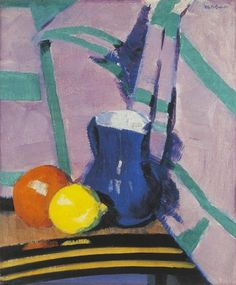 The Blue Jug - Francis Campbell Boileau Cadell