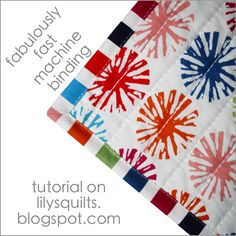 Fabulously Fast Binding and Fabulously Fast Quilts