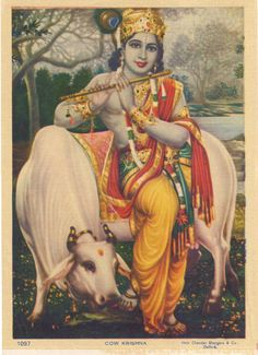 Krishna ... Hindu print