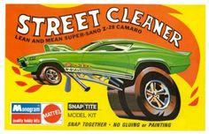 Monogram Street Cleaner