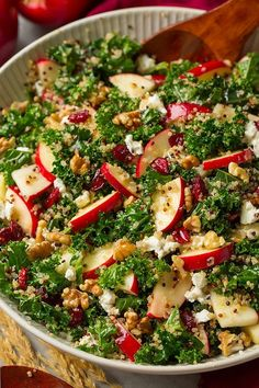 Autumn Kale Apple and Quinoa Salad (Cooking Classy) – Salad 2020 Quinoa Salad Recipes, Vegetarian Recipes, Cooking Recipes, Healthy Recipes, Avocado Recipes, Cooking Kale, Cooking Tips, Quick Recipes, Cooking With Apples
