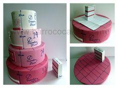 Diferentes imágenes de tutoriales para calcular las porciones de las tartas.       COMO CALCULAR LAS PORCIONES DE UNA TARTA     Las med... Fondant Cakes, Cupcake Cakes, Cup Cakes, Cake Pricing, Cake Sizes, Types Of Cakes, Cake Makers, Dream Cake, Diy Cake