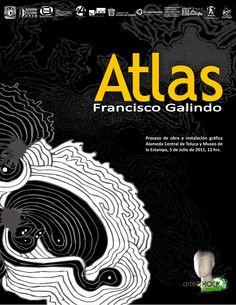 """Portada del proyecto """"Atlas"""", 2011."""