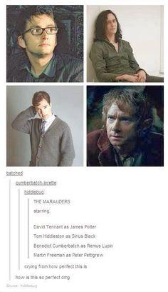 Marauders! #Sherlock