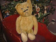 "Antique 23"" American Teddy Bear c. 1910's"