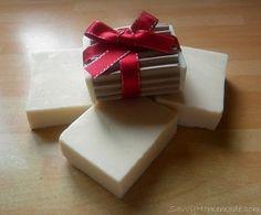 sweet floral olive oil soap