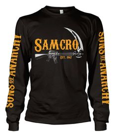 SOA SAMCRO Est. 1967 Long Sleeve Koszulka