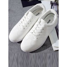Lace Up Slip On Sneakers (23 BRL) ❤ liked on Polyvore featuring shoes, sneakers, slip on trainers, laced up shoes, lace up shoes, slip-on shoes and lacing sneakers