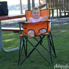 Are those ribs I smell? Make sure baby has the best seat at the 'q with the ultralight Ciao Baby high chair! It folds compactly, has an easy clean tray and its own travel bag, holds kids until age 3, and comes in 11 colors. NO ASSEMBLY REQUIRED. From just $65.75! Shop one for Grandma's house - link in profile!  http://www.pishposhbaby.com/ciao--baby-portable-high-chair.html