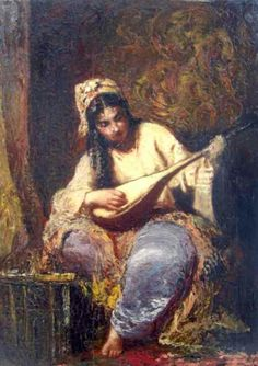 Odalisque was sexual slave in The Ottoman palace. Especially the young girls was raised for sex and entertainment. Islamic World, Blessed Virgin Mary, Vintage Music, Arabian Nights, Ancient Art, Art World, Oriental, Entertainment, Melting Pot