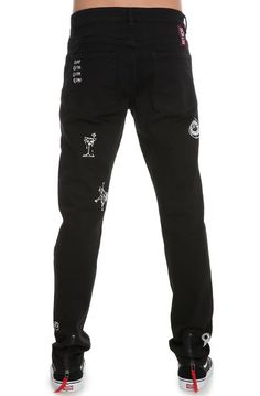 Detache Labs Denim Hornet 5-Pocket Jeans Vanta Black - Karmaloop.com
