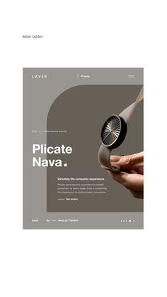 Layer Website Redesign on Behance Design Portfolio Layout, Book Design Layout, Web Layout, Ad Design, Graphic Design, Web Design Websites, Promo Flyer, Presentation Layout, Catalog Design