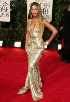 Beyonce's Red Carpet Look
