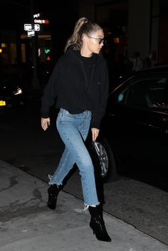 """lucky❤: """"September 12: Gigi hadid out in NYC """""""