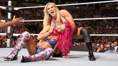 Sasha Banks vs. Charlotte: photos