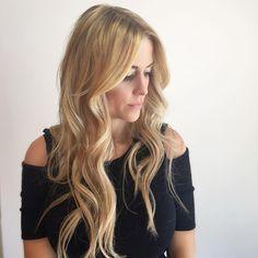 Blonde hair with extensions #reflexionhair #reflexionhairextensions