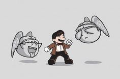 Doctor Mario! (Doctor Who and the Weeping Angels)