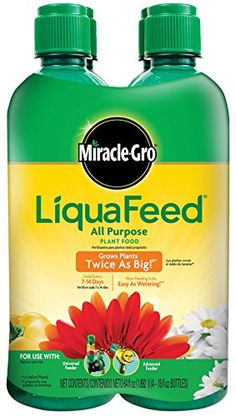MiracleGro 1004325 LiquaFeed All Purpose Plant Food Refill Pack 6 Pack *** You can get additional details at the image link.