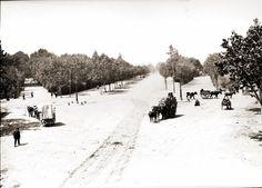 Plaça de l'Independència i el Passeig Ribalta. No hi era la Farola, ni el TRAM