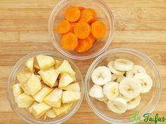 Smoothie de Banană, Morcov și Măr Baby Food Recipes, Snack Recipes, Healthy Recipes, Fruit Drinks, Healthy Drinks, Health Snacks, Dental Health, Raw Vegan, Cooking Time