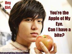 Lee Min Ho hey girl #kdramahumor #kdramafighting