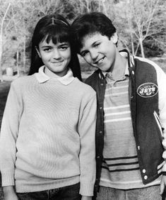 """Winnie Cooper and Kevin Arnold from """"The Wonder Years"""". . .yes I was a big fan...memories!"""