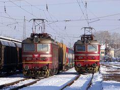 Bulgaria - BDŽ Cargo 43.5 551.1 + 544.6 / Iskur — Trainspo