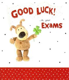 29 best good luck exams images on pinterest good luck cards good boofle good luck in your exams greeting card m4hsunfo