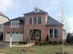 Taymouth model homes from the Noble Pointe Collection at Brambleton, in Ashburn, VA