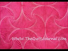 Twisted Square Free Motion Quilting Ruler Work Tutorial Video - YouTube