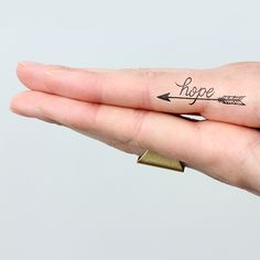 Fire Away arrows temporary tattoos http://tattify.com/product/fire-away/