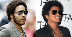 Lenny Kravitz y Bruno Mars ¡juntos! en el escenario [VIDEO]