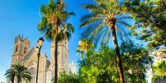"""Iglesia de la Puríssima Xiqueta, también llamada la """"Catedral de la Marina"""" por sus dimensiones. Benissa"""