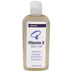 Nourish Skin™ Vitamin E Skin Oil with Safflower Oil ($10.39) -- antioxidant, promotes supple skin, and has 56,000 IU of Vitamin E.