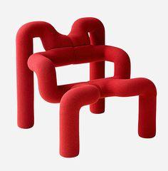 Silla iconic del diseño del diseño de las reuniones activas de la comodidad de Ekstrem por VARIER - ArchiExpo